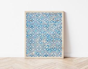 Porto Portugal Photography Azulejos Tile Photography Blue Tile Abstract Photography Travel Photography Architecture Photography