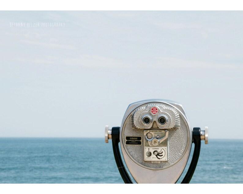 Montauk Lighthouse Landscape Photography Coastal Decor image 0