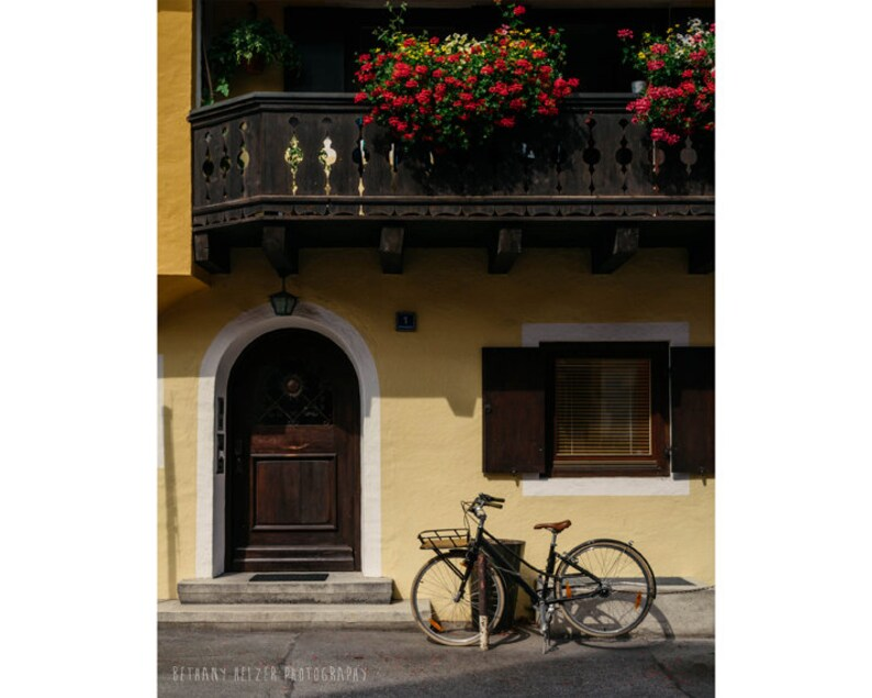 Bicycle Photography Architecture Photography Garmisch Germany image 0