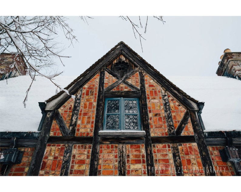 Architecture Photography 8x12 Print Maine Photography Bar image 0