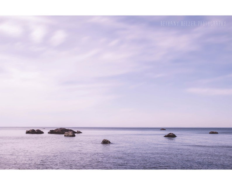 The Dreamy Sea Nautical Photography Ocean Print Long Island image 0