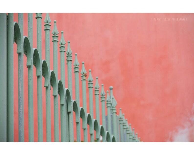 Minimalist Architecture Photography Old San Juan Puerto Rico image 0