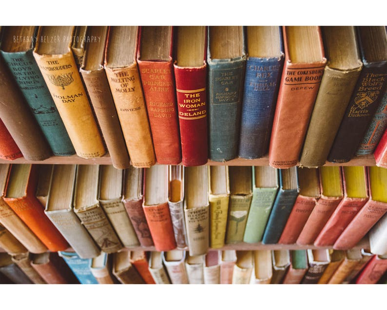Gift for book lovers Book Photography Still Life Photography image 0