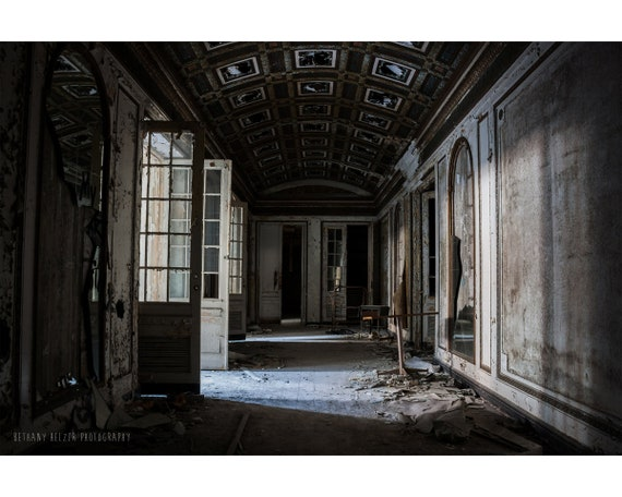 Detroit Michigan Central Station Unframed Photo 11x14 PRINT