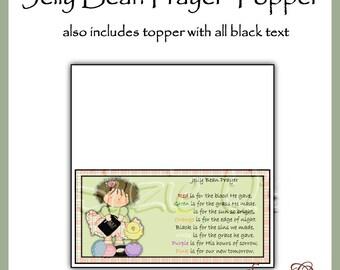 photograph regarding Jelly Bean Prayer Printable referred to as Jelly beans prayer Etsy