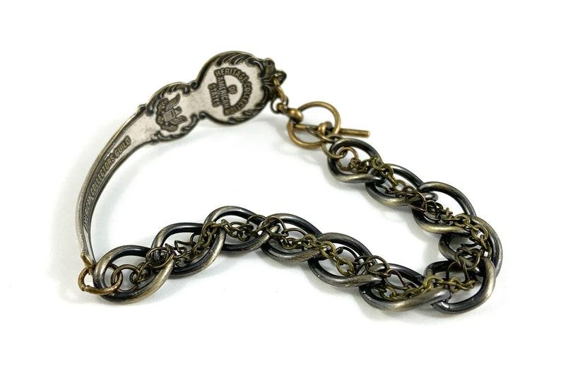 Spoon Bracelet vintage Maryland Maryland Bracelet Maryland Woman Gift Wife Gift Maryland Gift Maryland Jewelry Maryland Charm