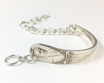 James K Polk Bracelet, Polk Jewelry, Spoon Bracelet, Polk Woman Gift, Polk Memorabilia, President Polk Souvenir, USA History, James K Polk