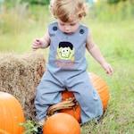 Fall Boy Romper - Baby Boy Jon Jon or Shortalls PDF Pattern Reversible Overall Pattern, Baby Toddler Children 6M - 6C Summer Boy Outfit