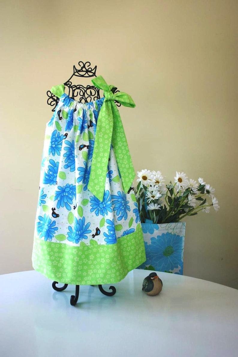 Sew Easy Girl's Pillowcase Dress Pattern, Dress Pattern, Pdf Sewing  Pattern  FULL PATTERN PIECES  Handmade Patterns, Sewing Supply