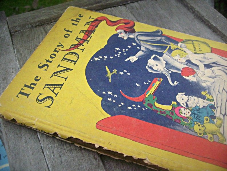 Vintage book The Story of the Sandman by Caroline image 0