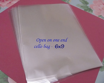 50 6x 9 Open On One End Cello Bags