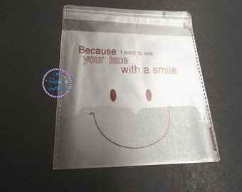 """50pcs 5"""" x 5 1/4""""Printed Cute Cartoon Style For Snack Packaging Bag, Bread Bag, Gift Candy Bags, Favor Bags"""