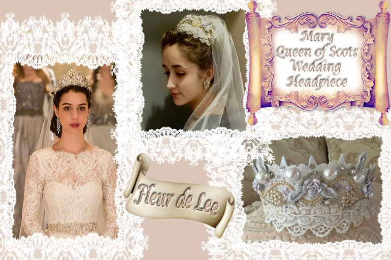 Reign Mary Queen Of Scots Wedding Headpiece Etsy