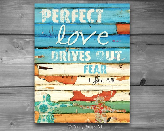 ART PRINTABLE, 1 John 14:18, Christian print, Scripture, Inspirational, Couple, Holding Hands, digital download, perfect love, 8x10
