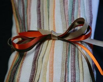 Fall mix Reusable napkins 38 Regular Birdseye cloth towels