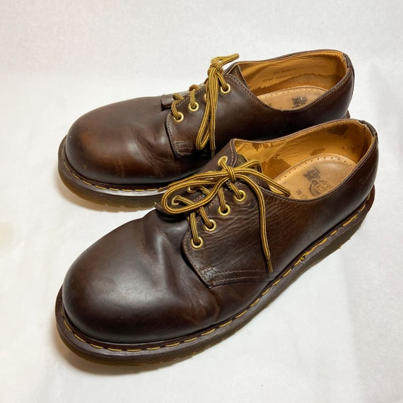 Vintage Doc Martens Brown Leather Chunky Oxford Sh