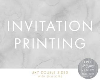 invitation printing etsy