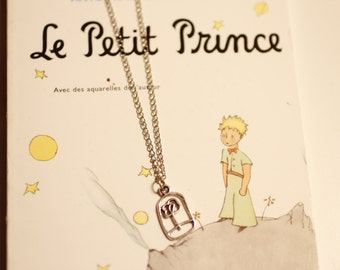 rose necklace, Le Prince, The Prince inspired,  הנסיך , Beauty and the Beast, minimalist, birthday gift, boho, indie