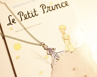 The Prince inspired necklace, Le Prince, Der Prinz,  הנסיך , minimalist, birthday gift, boho, indie, vintage style