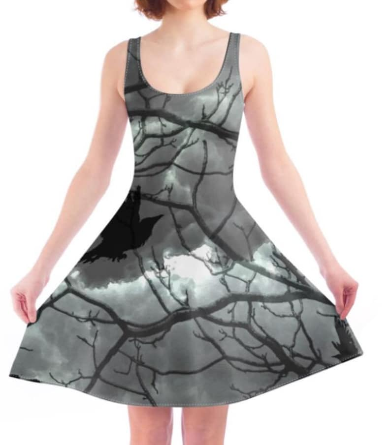 Game of Thrones Inspired Ladies Skater Dress Trees Mother of  3c74d52fd