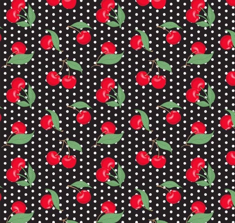 Ladies Cherry Print /& Polka Dots Caps Sleeve Front Wrap Dress Summer Plus Size