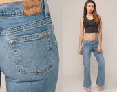 Levis Jeans Bell Bottoms Jeans 90s Denim Pants Flared Jeans Hippie Blue 1990s Bohemian Vintage Boho Extra Small xs 0