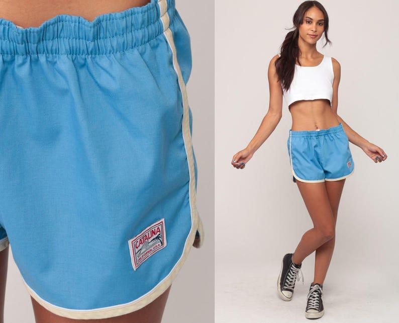 fe5df6557ea23 Catalina Swimwear Swim Trunks 80s Bathing Suit Shorts Vintage | Etsy
