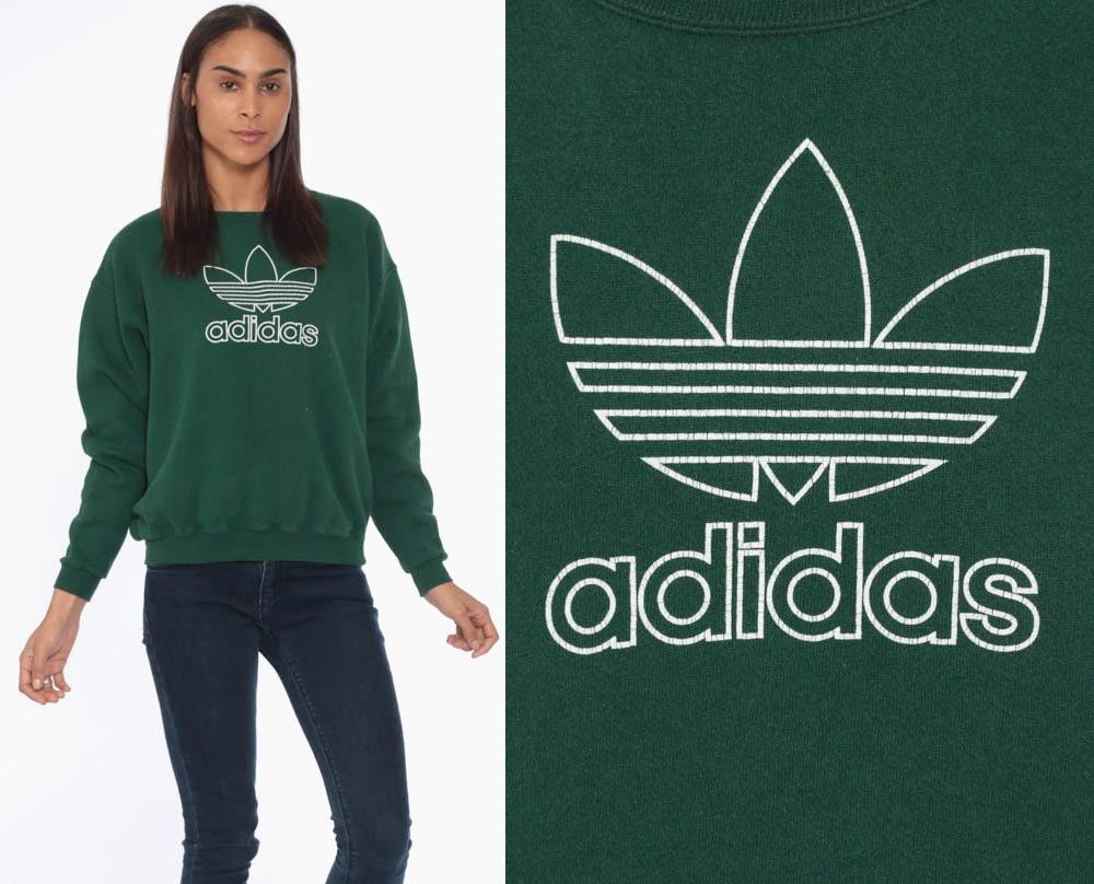 Großhandel 90er Jahre ADIDAS Sweatshirt 1990er Jahre Sport