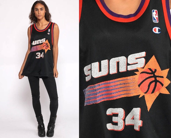 Basketball Jersey Tank Top PHOENIX SUNS Shirt 90s Charles Barkley Number 34 Retro Sports Jersey Numbered Vintage Men Medium