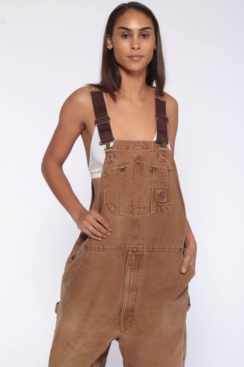 62266837f0 Carhartt Overalls Workwear Coveralls 90s Baggy Pants