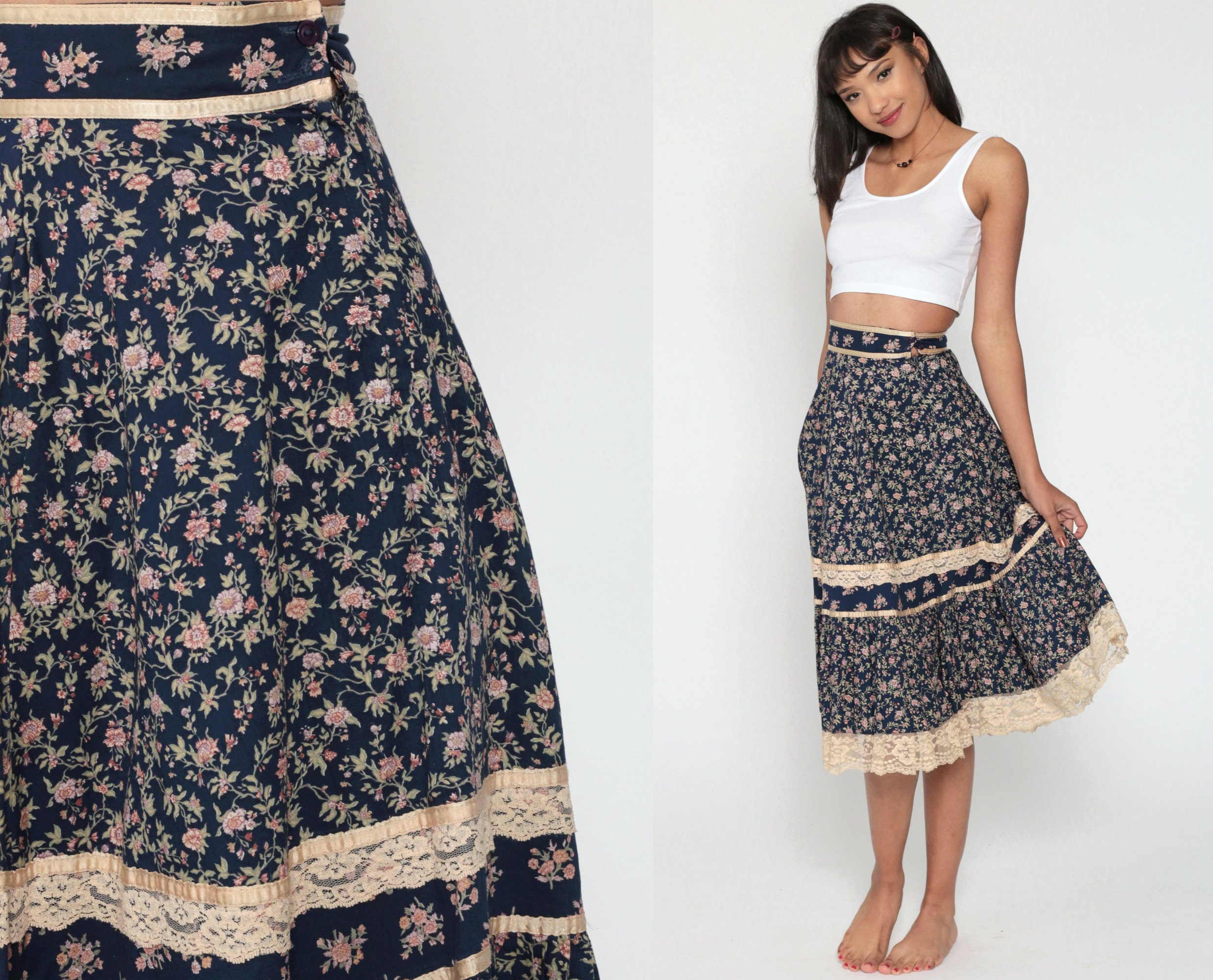 1970s ~Jessica's GUNNIES San Francisco~ Skirt