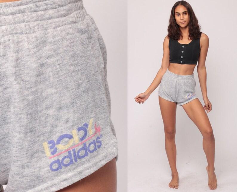 e2478907c1 Adidas Shorts BODY 80s Running Shorts Sweat Shorts High | Etsy