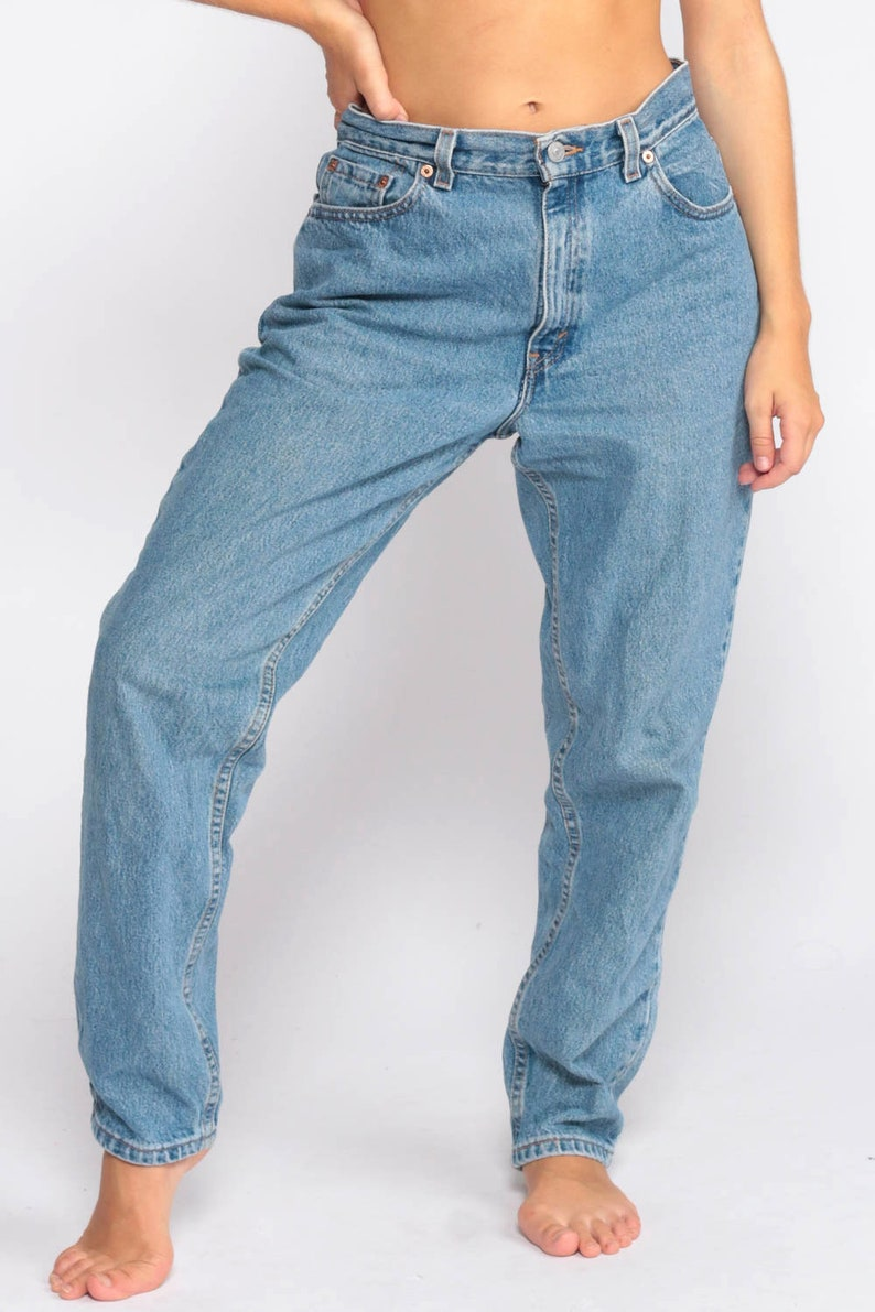De Taille Levis Jeans Mom Etsy Haute Levi Conique Moyenne 76wff