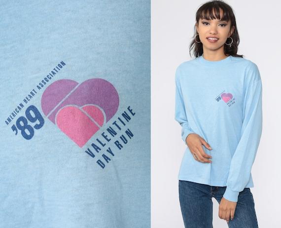 Running Shirt Valentine Day Run Shirt Heart Long S