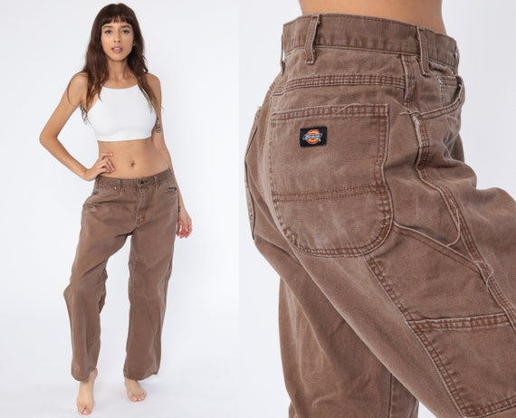 Brown Dickies Pants 34 -- Carpenter Workwear Work