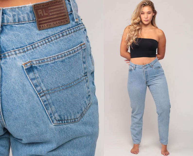 5528161e344be Ralph Lauren Jeans Mom Jeans Relaxed Jeans High Waist Jeans | Etsy