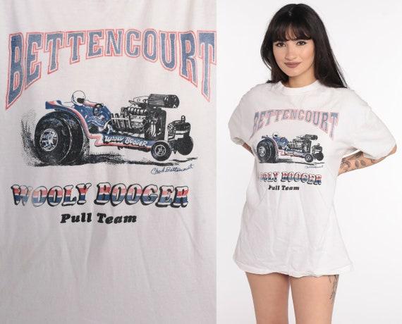 Go Kart Racing Shirt Vintage Chad Bettencourt Shirt Race Car Tshirt 90s Wooley Booger Racing Tee Graphic Tshirt Large xl l