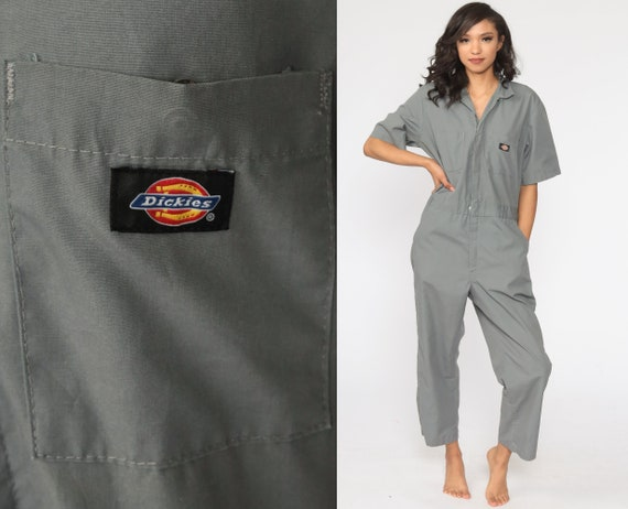 Dickies Coveralls Pants Grey Jumpsuit Workwear One