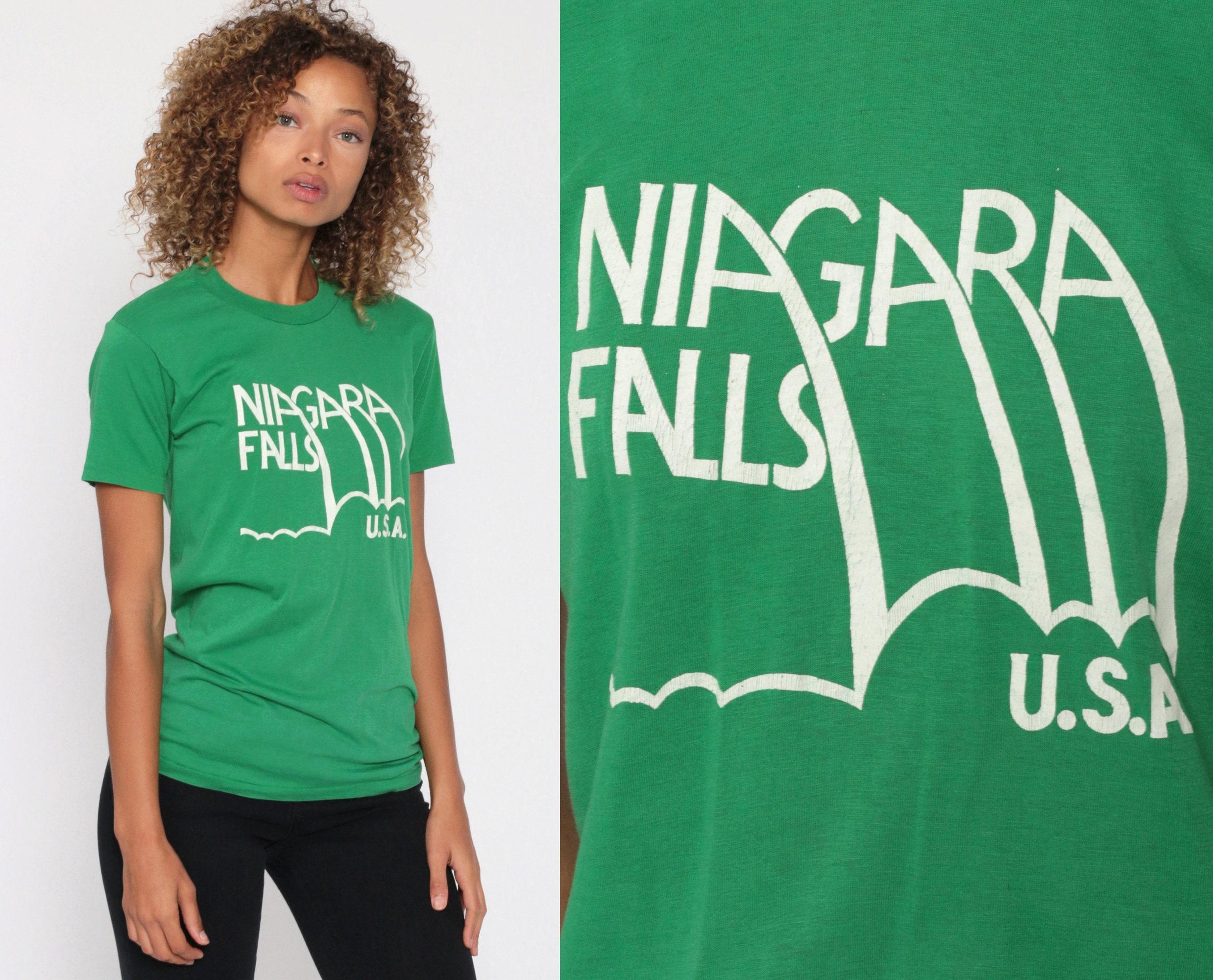VINTAGE NIAGARA FALLS thin Tee
