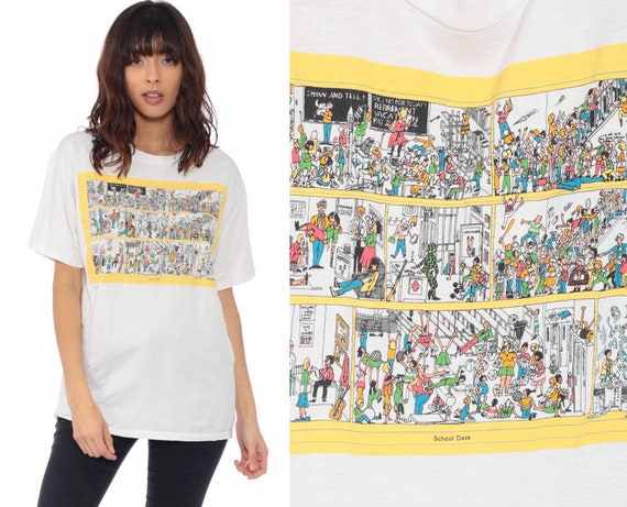 School Daze Shirt 90s Cynical Joke Shirt Sarcastic Graphic Tee Teacher's Shirt Jerzees High School Vintage Tshirt Retro T Shirt Small Medium