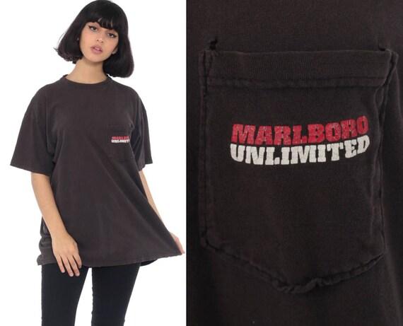 06539c217c4 Marlboro Lizard Shirt 90s Cigarette Shirt Marlboro Tshirt