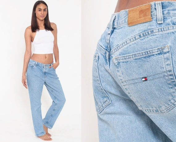 90's Tommy Boyfriend Jeans High Waist Denim
