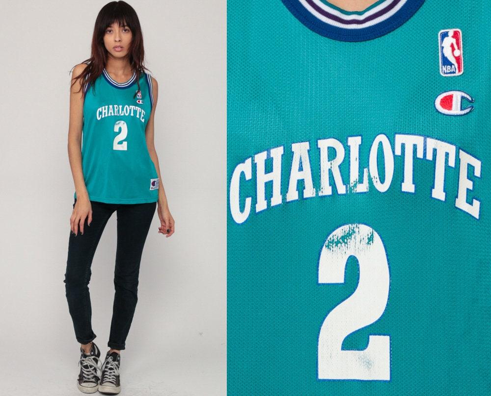 separation shoes 6db37 329d3 Basketball Jersey CHARLOTTE HORNETS Shirt Larry ...