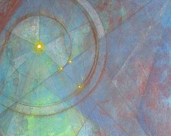 "Original Painting ""Sentinel"""
