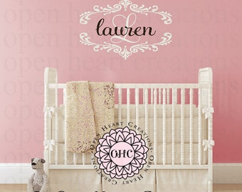 Name Wall Decals
