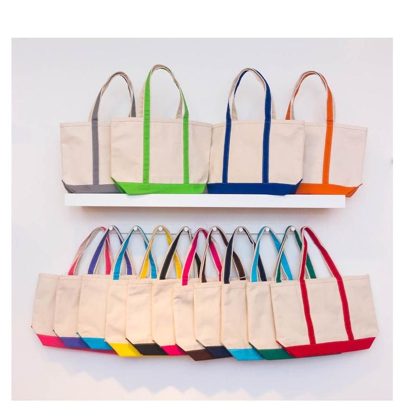 Monogram Bag Personalize Tote Bridesmaid Gift Tote bags Set of 3 Bridesmaid bag