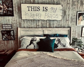 Wild West Showdown pillow case set pillow fighting pillowcases western cowboy duel wild west decor western bedding cowboy bedding