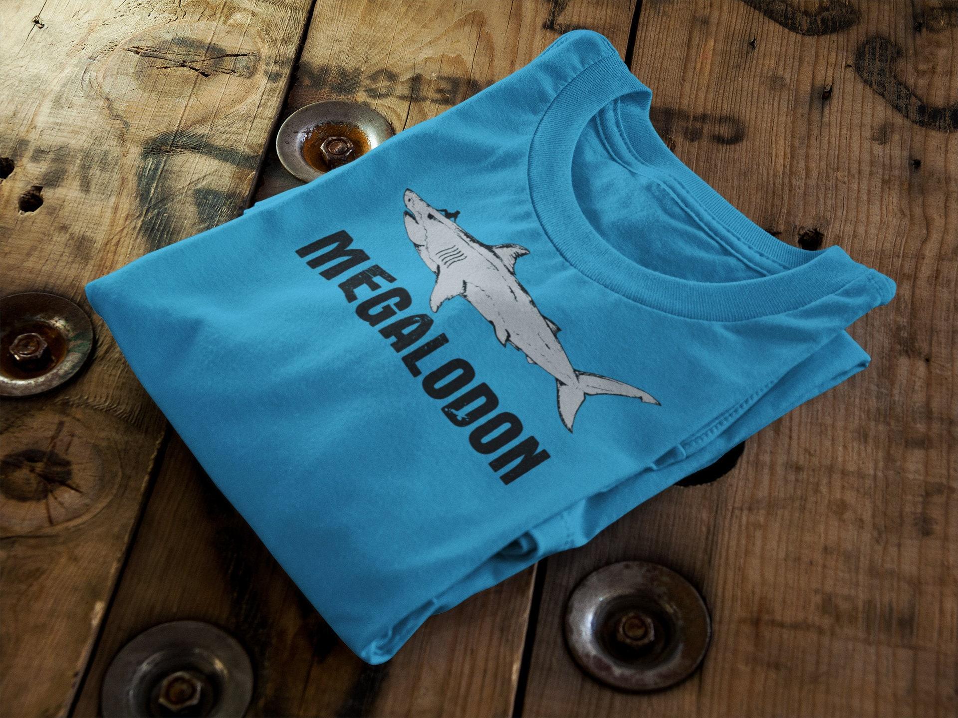 fe10512e Megalodon shirt megalodon men's t-shirt megalodon   Etsy