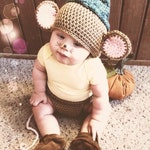 Crochet Gus Mouse Hat & Tail Only - Custom Order • FREE SHIPPING!