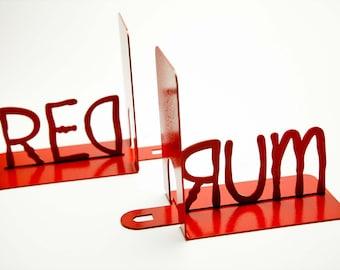 Redrum Bookends